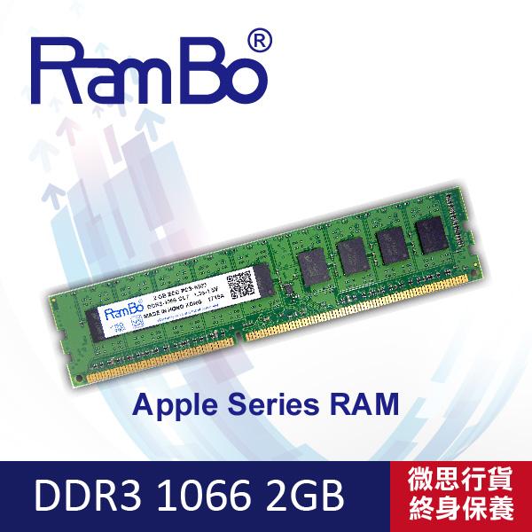 RamBo ECC DDR3-1066